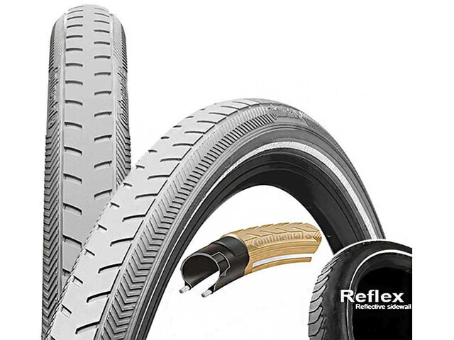 "Continental Ride Classic Wired-on Tire 28"" E-25 grey"